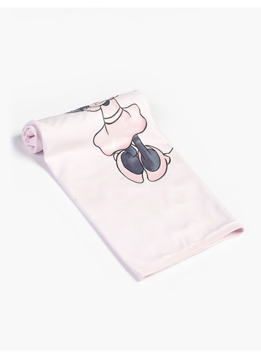 Minnie Mouse Battaniye Pembe